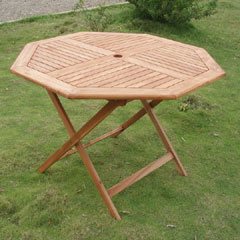 Greenfingers Cadiz 110cm Hardwood Octagonal Table