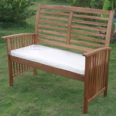Greenfingers Casablanca 2 Seat Garden Bench with Cushion