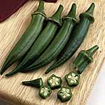 Okra Clemsons Spineless Seeds