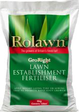 Rolawn GroRight Lawn Establishment Fertiliser 5kg