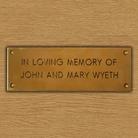 Memorial Brass Plaque