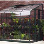 Halls Highgrove Lean-to Greenhouse
