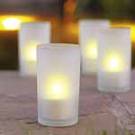 Rechargeable Outdoor Candle Lights