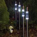 Solar Post Lights - Set of 4