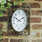 Decorative Metal Scroll Clock