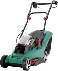 Bosch Rotak 34 Li-Poly Cordless / Battery Powered Rear Roller Lawn Mower
