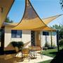 Coolaroo 5m triangle shade sail