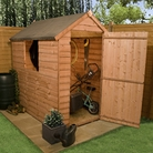BillyOh Traditional Economy Apex Wooden Garden Shed - 5'x3'