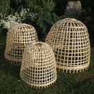 Bamboo bell cloche