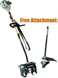 Ryobi RLT30CES-AQTTT Mini Petrol Cultivator + Free Line Trimmer Attachment (Exclusive Special Offer)