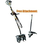Ryobi RLT30CES-AQTTT Mini Petrol Cultivator + Free Line Trimmer Attachment (Exclusive Special Offer)