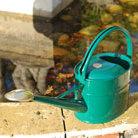 Haws green watering can