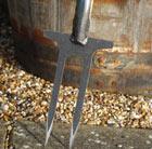 De Wit two pronged weeder / rose fork