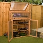 BillyOh Grow House Deluxe 3' x 2' Wooden Greenhouse