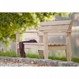 Isabella Oak Bench 1500 - FSC 100%