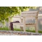 Isabella Oak Bench 1500 - FSC 100%