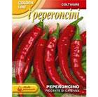 chilli 'Piccantte di Cayenna' (chilli)