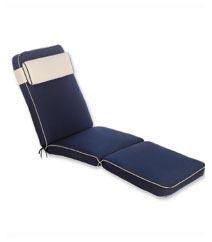 Luxury Garden Lounger Cushion