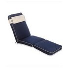 Luxury Garden Lounger Cushion