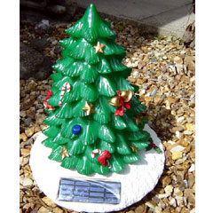 Christmas Tree Ornament-Solar Powered