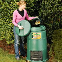 335l Compost Machine - green