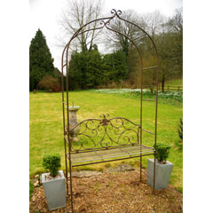 Romantic Arch with Seat