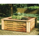 FSC Wooden Raised Bed