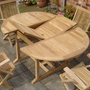 Winslow Teak Extending Table