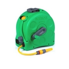 Hozelock 2 in 1 Compact Enclosed Reel & 25m Hose