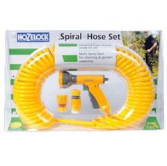 Hozelock Spiral Yellow Hose 15m
