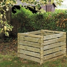 FSC Timber Compost Bin 113cm Square