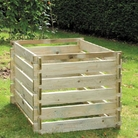FSC Timber Compost Bin 93cm Square