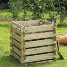 FSC Timber Compost Bin 73cm Square