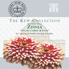 Kew Seed Collection - Zinnia Swizzle Cherry & Ivory