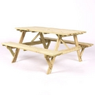Greenfingers Large Montana FSC Picnic Table