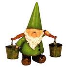 Garden Ornament - Woodland Wilf Looks Pail