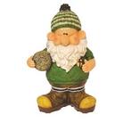 Garden Ornament - Woodland Wilf Scores A Hat Trick
