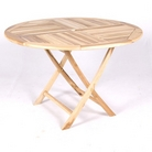 Greenfingers Round 120cm Teak Table