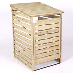 FSC Flat Top Slatted Bin Tidy
