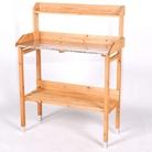 Galvanised FSC Fir Potting Table