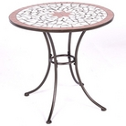 Patterned Mosaic Bistro Table