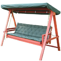 Greenfingers Loreto Swing Bed with Cushion