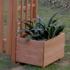 FSC Wooden Planter Boxes for Fuchsia Garden Arch