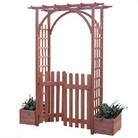 Fuchsia FSC Fir Garden Arch