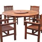 Greenfingers Loreto 150cm Round Table