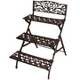 Stamford 3-Tier Folding Rectangular Etagere