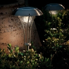 Gardman Luna Stainless Steel Solar Light
