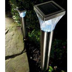 Gardman Ultra Bright Post Solar Light - 2 Pack