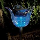 Gardman Stainless Steel Tulip Solar Light