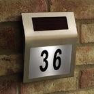 Gardman Solar Light House Number